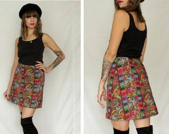 Manoush Floral Mini Skirt - Size S