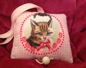 Cushion musical baby, cute, very, very cat!