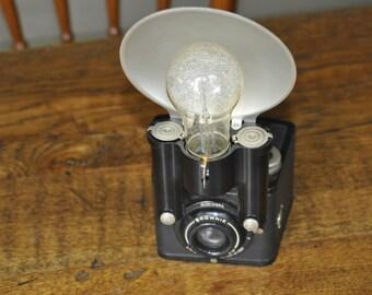 Older Kodak Brownie Camera And Flash