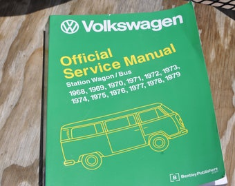 Volkswagen Station Wagon/Bus Service Manual