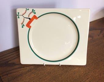 Clarice Cliff Ravel plate c1930+