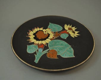 Vintage wall plate / Ruscha / 717 2 | West Germany | WGP | 60s