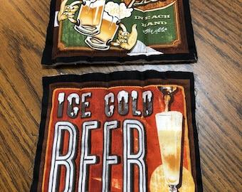 Fabric Beer Coaster