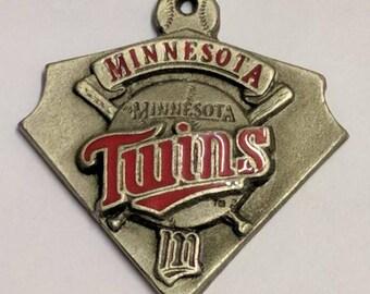Minnesota Twins pewter pendant