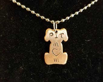 Dog necklace, Pet Necklace, Personalized Dog Necklace, Charm Necklace, Pet Charm Necklace