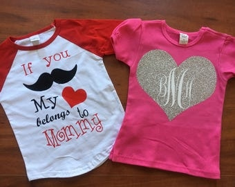 Custom Kid's Valentine's Shirt
