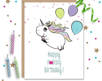 Mature 5 x 7 Funny Birthday Card, Funny Card, Funny Greeting