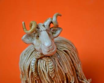 A ceramic RAM or sheep?