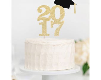 2017 Caketopper with Grad Hat- High School // College