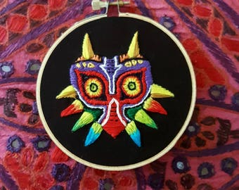 Legend of Zelda: Majora's Mask Embroidery