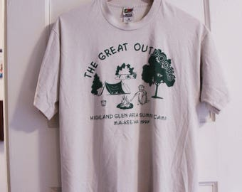 The Great Outdoors / Camp T Shirt 1997