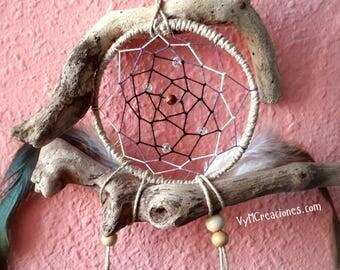 DreamCatcher wood sea, Dreamcatcher, Boho, Hippie, rustic decoration.