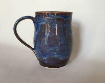 Large Pottery Mug Ceramic Coffee Mug Stoneware Mug