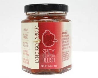 Savory Red Pepper Relish