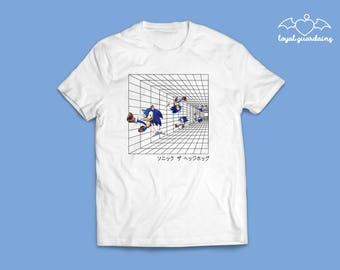 Japanese Sonic The Hedgehog T-Shirt