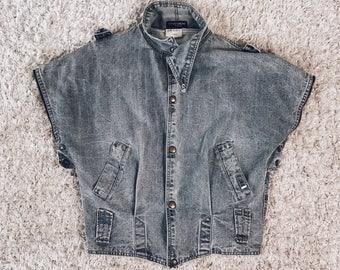 80's GUESS Denim Vest