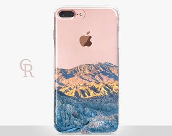 Mountains iPhone 7 Clear Case - Clear Case - For iPhone 8 - iPhone X - iPhone 7 Plus - iPhone 6 - iPhone 6S - iPhone SE Transparent