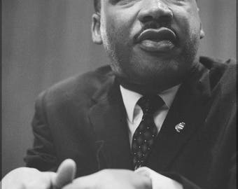 Poster, Many Sizes Available; Martin Luther King Jr. C1964