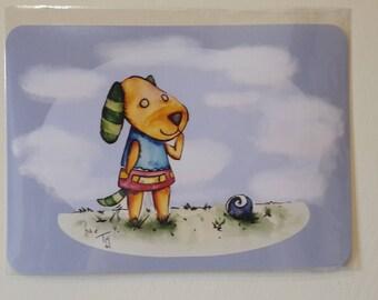 Animal Crossing - BISKIT - New Leaf Art Print