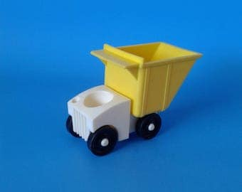 "Fisher Price Little People "" #979 Dump Truckers "" 1970's"