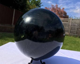 Extra large Nephrite Jade sphere 160mm 4.7KG