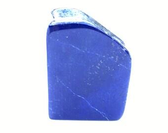 Lapis lazuli naturally shaped sculpture 184grams 7.5x4.5x2