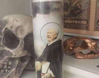 St Bob Barker Price is Right Prayer Candle