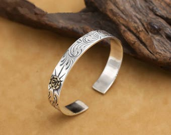 S925 Sterling Silver Takahashi Goro bird Fashion Bracelet