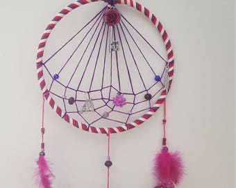 Sweet Rose Dreamcatcher