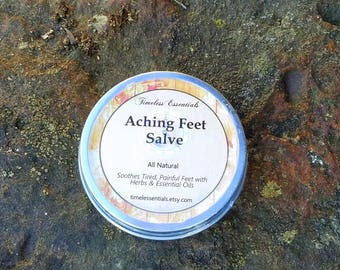 Aching Feet Salve - Natural Relief for Tired, Painful Feet