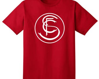 Sevilla FC T Shirt Camiseta Futbol Soccer Los Blanquirrojos La Liga Spain Espana