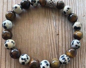 dalmation tiger bracelet