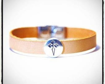 Camino de Santiago St. James Cross Bracelet