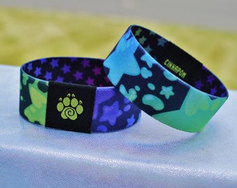 Rainbow Star Wristband