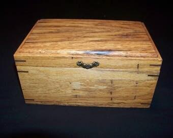 Spalted Oak Jewelry/keepake Box
