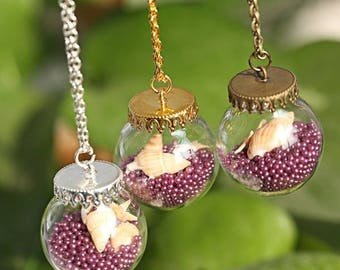 Beautiful beach themed necklace