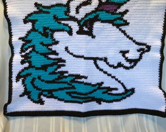 Unicorn Lap Blanket