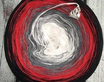 Ember Gradient Yarn Cake