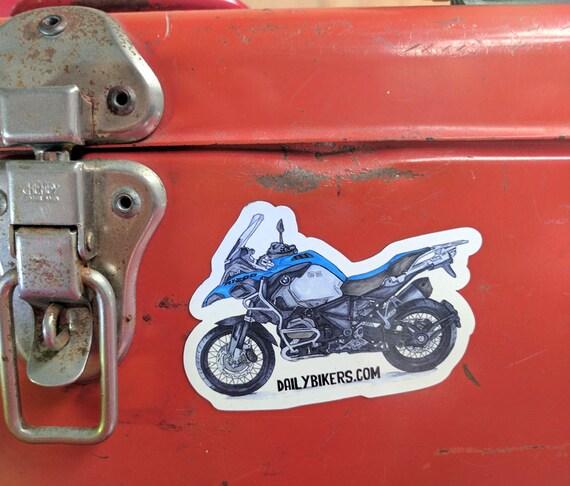 Motorcycle Fridge Magnet | High Quality Vinyl Motorcycle Magnet | BMW R1200GS illustration