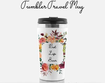 JW Gift | Pioneer Gift | JW Baptism | Travel Tumbler | Travel Mug | Best Life Ever | Pioneer SKE School