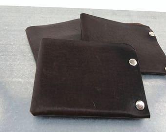 Men's Wallet - Brown Horween Essex Leather