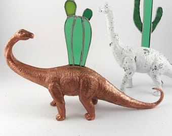 office planter. dinosaur planter animal office indoor cactus desktop