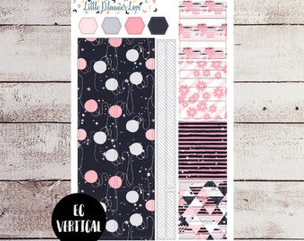 Purrfect Morning Bottom Washi and Washi Strip Stickers for EC Vertical