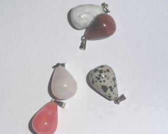 Gemstones charms pendants