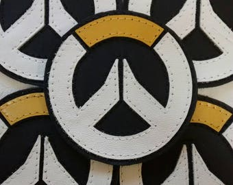 Leather Overwatch  Patch applique