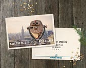 Custom Save the Dates for Risa & Anna
