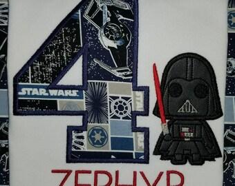 Darth vader birthday shirt, dark one birthday shirt, star wars birthday shirt