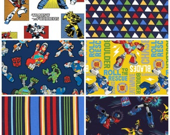 Transformers Fat Quarter Bundle - 6 prints