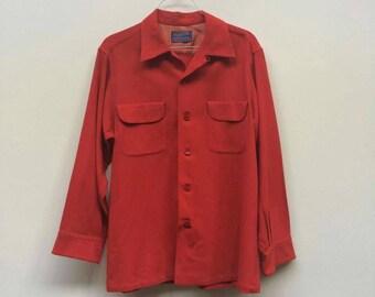 1960's Store Stock Pendleton Wool Shirt