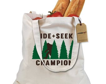 Hide And Seek Champion Shopping Tote Bag